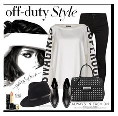 """Off-Duty Style"" by nightowl59 ❤ liked on Polyvore featuring J Brand, Chanel, my t-shirt, Alexander Wang, Guerlain, rag & bone, Stella & Dot and offduty"