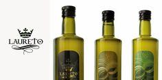 etichetta olio Laureto