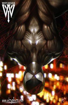#Spiderman #Fan #Art. ( INVERTED BLACK) By: Wizyakuza. (THE * 3 * STÅR * ÅWARD OF: AW YEAH, IT'S MAJOR ÅWESOMENESS!!!™)[THANK Ü 4 PINNING!!!<·><]<©>ÅÅÅ+(OB4E)  https://s-media-cache-ak0.pinimg.com/564x/04/8b/f8/048bf81febea470a21adf1da9ed5845f.jpg