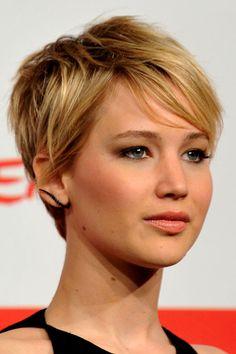 Der Pixie von Jennifer Lawrence in Rom  Als gekonnt gestylter Wirbelwind trat Jennifer Lawrence am 14. November 2013 in Rom zum