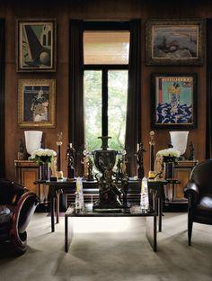 Yves Saint Laurent's Apartment in Paris
