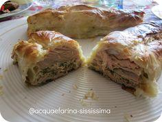 …salmone alle erbe profumato al pecorino con tartufo in crosta…con olio Flaminio Delicato by Silvia De Leonardis