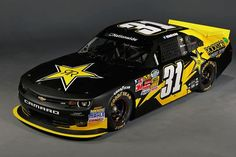 One of the paint schemes Dylan Kwasniewski will run for the 2014 Nascar Nationwide Series season
