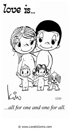 Love Is. Love My family more than anything! Love Is Cartoon, Love Is Comic, Marriage Relationship, Love And Marriage, Relationships, Happy Marriage, I Love Girls, Love You, Love Quotes For Him