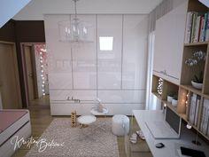 Sesterský duet - Návrh a vizualizácia detskej izby - Kristína Bedečová Cozy Room, Girls Bedroom, Bathtub, Furniture, Home Decor, Bedrooms, House, Standing Bath, Bathtubs