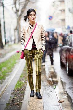 Showgoer/Milan fashion week