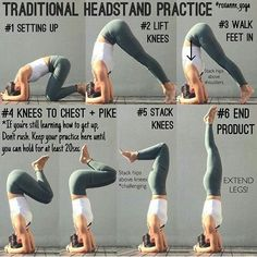 Tricks to Lose Weight Doing Yoga - Headstand Tricks to Lose Weight Doing Yoga - Yoga Fitness. Introducing a breakthrough program that melts away flab and reshapes your body in as little as one hour a week! Fitness Workouts, Yoga Fitness, Fun Workouts, Fitness Diet, Physical Fitness, Fitness Goals, Free Fitness, Fitness Hacks, Fitness Plan