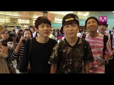BTS Arriving at LAX - KCON Experience
