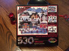 Christmas puzzle tradition