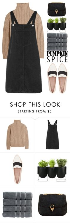 """""""pumpkin date"""" by igedesubawa ❤ liked on Polyvore featuring Totême, Topshop, Kate Spade, Authentics, Christy and CÉLINE"""