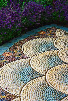 mozaika ogrodowa