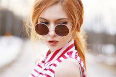 Retro Metal Sunglasses 8570