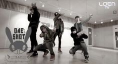 """B.A.P. makes learning their """"One Shot"""" choreography easier with a """"Let's Dance"""" tutorial clip"""