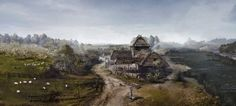 The Witcher 3: Wild Hunt - Village