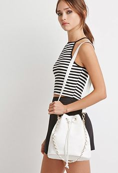 Faux Leather Bucket Bag | Forever 21 - 1000053381