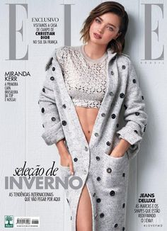 Miranda Kerr featured on the Elle Brazil cover from July 2016 Miranda Kerr featured on the Elle Brazil cover from July 2016 View this photograph in high resolution < >