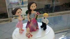 Topo do bolo: debutante e os irmãos! <3 #Gabi15 #LaPartieEventos