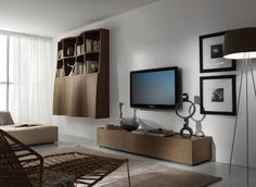 Moderne Wandregale Wohnzimmer Wandregal Geometrisch Einrichtung Von Tumidei