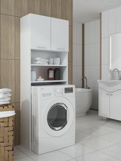 шкаф над стиральной машиной купить - Поиск в Google Home, Washer And Dryer, Laundry, Washing Machine, Home Appliances