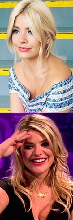 Holly Willoughby This Morning blonde hair