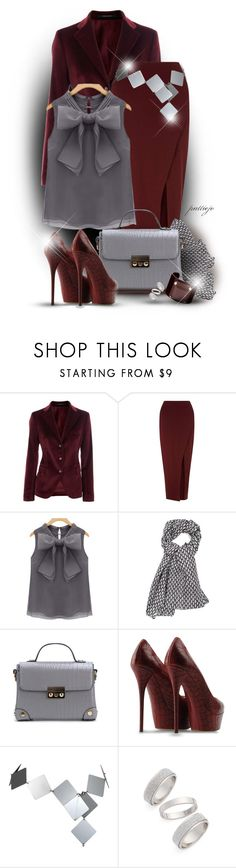 """Shape Up in Velvet"" by rockreborn ❤ liked on Polyvore featuring Tagliatore, Miss Selfridge, Casadei, Paco Rabanne, Topshop and Jaeger"