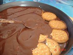 TARTA DE LA ABUELA Thermomix® (galletas y chocolate) Food Lists, Healthy Cooking, Food And Drink, Tartan, Breakfast, Cake, Sweet, Desserts, Crack Crackers
