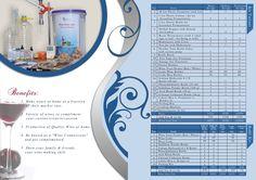 Home Wine Making Kit- Flyer (Inside Page)