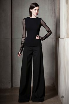 Love this! -Sophisticated and a bit goth. Nha Khanh A/W '12 Look Book