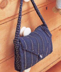 Beaded Denim Bag | Knit Rowan
