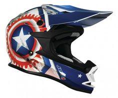 JUST 1 J32 Merica Mens Off Road Dirt Bike Motocross Helmets