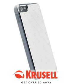 Krusell Avenyn Undercover Case voor Apple iPhone 5 / 5S - Wit