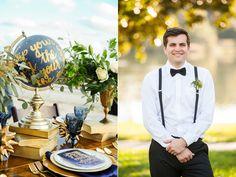 stargazer wedding ideas - photo by Love Asha Photography http://ruffledblog.com/starburst-themed-wedding-inspiration