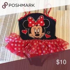Minnie Mouse Bathing Suit Excellent condition, barely worn last summer. Disney Dresses