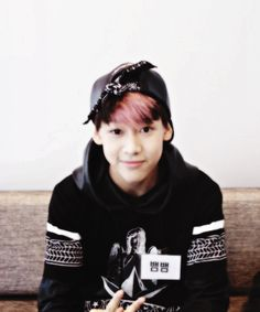 """BamBam. Can u believe it that this cute lil boy so squishy soo uuugghiwannapinchhischeek is the same person as sexy-bambam now ? :"""""""