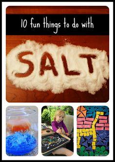 10 Fun Things to Do with Salt Left Brain Craft Brain