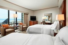 Seattle Hotels | Grand View room at the Westin Seattle |Seattle Hotel
