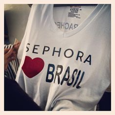 Exciting news! We've opened our first Brazilian in São Paulo! We're so excited! #Sephora