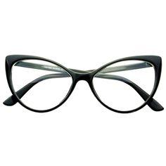 Clear Lens Large Womens Retro Cat Eye Glasses Frames C76 – FREYRS - Beautifully designed, cheap sunglasses for men & women