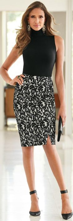 Amazing Ideas About Office Skirt  #FashionTrend #FashionStyle #OfficeSkirt #Outfit #Fashion #OfficeSkirt