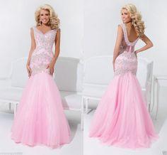 Hochzeitskleid Brautkleid Abendkleid Ballkleid GR 34 36 38 40 Neu #pink