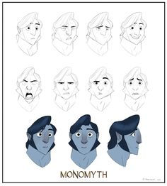 """MONOMYTH"" Animated Short and Art Book by Randy Bishop —Kickstarter"