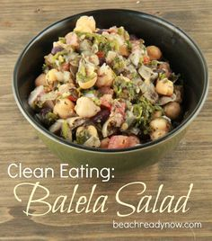 Balela Salad Recipe - Clean Eating