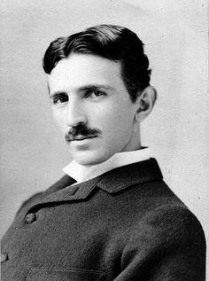 Nikola Tesla by Napoleon Sarony 1906