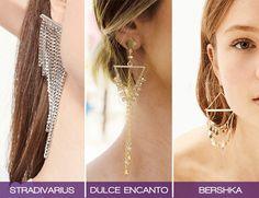 3 Diseños de Aretes Metálicos para Lucir Espectacular #Aretes #Moda #TiendasOnline #ModaMujer
