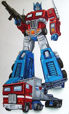 I am Optimus Prime by ~CYBERBUTTERFLY on deviantART