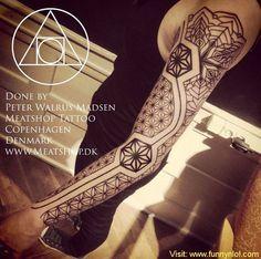 41 Intricate Geometric Tattoo Ideas