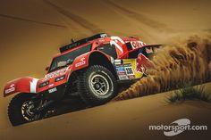 Rally Dakar 04 - 17 January 2015 Adam Malysz and his pilot Rafal Marton are getting prepared for Dakar Rally 2015 in Morocco. Adam Malysz Co-driver: Rafal Ma. Road Race Car, Off Road Racing, Pajero Off Road, Rallye Paris Dakar, Rally Dakar, Rallye Raid, 2015 Cars, Trophy Truck, Wide Body