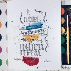 """""""Mais uma arte à 4 mãos!  Eu e a @neilalbertina pedimos uma frase inspiradora para o @zackmagiezi para podermos criar uma arte conjunta. E ai está o…"""""""