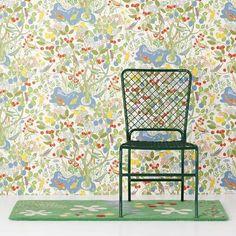 Wallpaper Paradiset - Paper, Paradiset, White, Josef Frank | Svenskt Tenn