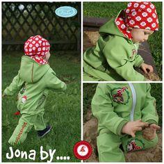 """""""Softshell"""" Jacke **Jona**  Ebook by Lolletroll ist eine gut bebilderte Nähanleitung (incl. Schnittmuster)    Hier kommt Jona, die tolle unisex Softshell Jacke, die aber natürlich auch aus anderen..."""